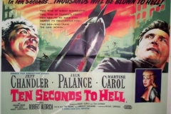 Ten Seconds to Hell (1959) - UK poster