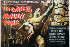 Curse of the Mummy's Tomb (1964) - UK poster