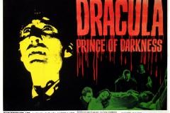 Dracula, Prince of Darkness (1966) - UK poster