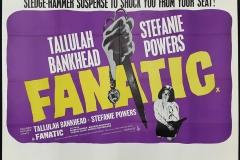 Fanatic (1965) - UK poster