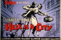 Hell is a City (1960) UK poster