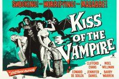 Kiss of the Vampire (1963) - UK poster