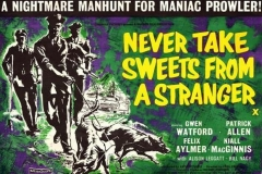 Never Take Sweets From a Stranger (1960) - UK poster