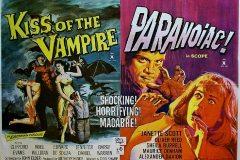 Paranoiac (1963) - UK double bill poster