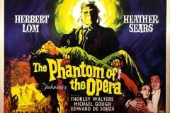 Phantom of the Opera (1962) UK poster