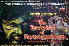 The Revenge of Frankenstein  (1958) - UK poster