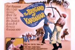 The Brigand of Kandahar (1965) - UK poster`