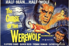 The Curse of the Werewolf (1961) - UK poster
