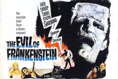 The Evil of Frankenstein (1964) - UK poster
