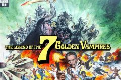 The Legend of the 7 Golden Vampires (1974) - pre-production poster