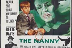 The Nanny (1965) - UK poster
