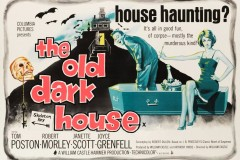 The Old Dark House (1963) - UK poster