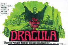 The Satanic Rites of Dracula (1973) - UK poster