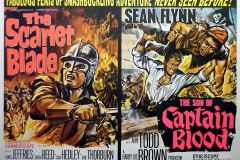 The Scarlet Blade (1963) - UK double-bill poster
