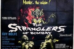 The Stranglers of Bombay (1959) UK poster