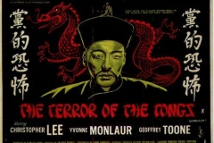 The Terror of the Tongs (1961) UK poster 2