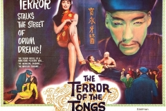 The Terror of the Tongs (1961) UK poster
