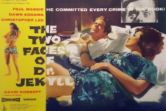 The Two Faces of Dr. Jekyll (1960) UK poster