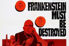 Frankenstein Must Be Destroyed (1969) - US poster
