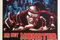 Frankenstein and the Monster From Hell (1974) - Dutch poster