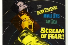 Taste of Fear (1961) - US poster