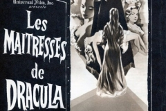 The Brides of Dracula (1960) French poster