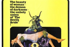 The Devil Rides Out (1968) - US poster