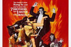 The Legend of the 7 Golden Vampires (1974) - US poster