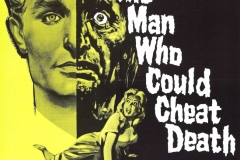 The Man Who Could Cheat Death (1959) - US poster