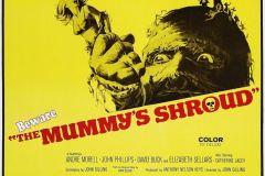 The Mummy's Shroud (1967) - US poster