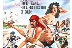 The Pirates of Blood River (1962) - US poster