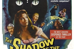 The Shadow of the Cat (1961) - US poster