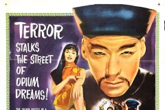 The Terror of the Tongs (1961) US poster