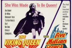 The Viking Queen/Quatermass and the Pit (1967) -US double-bill poster