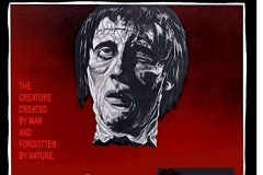 The Curse of Frankenstein (1957) - US poster