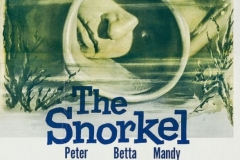 The Snorkel (1958) - US poster