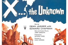 X - The Unkown (1956) - US poster