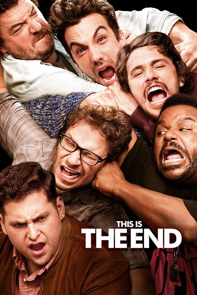 "Poster for the movie ""This Is the End"""