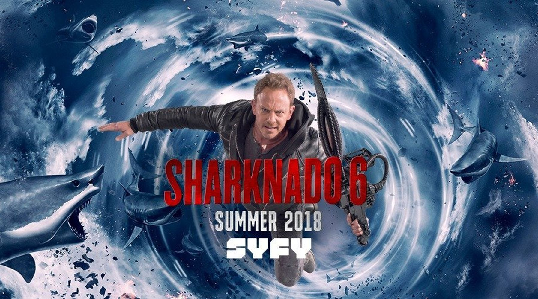 Shark Absorbers: Shark Week 2018 on the SyFy Channel - Film Blitz