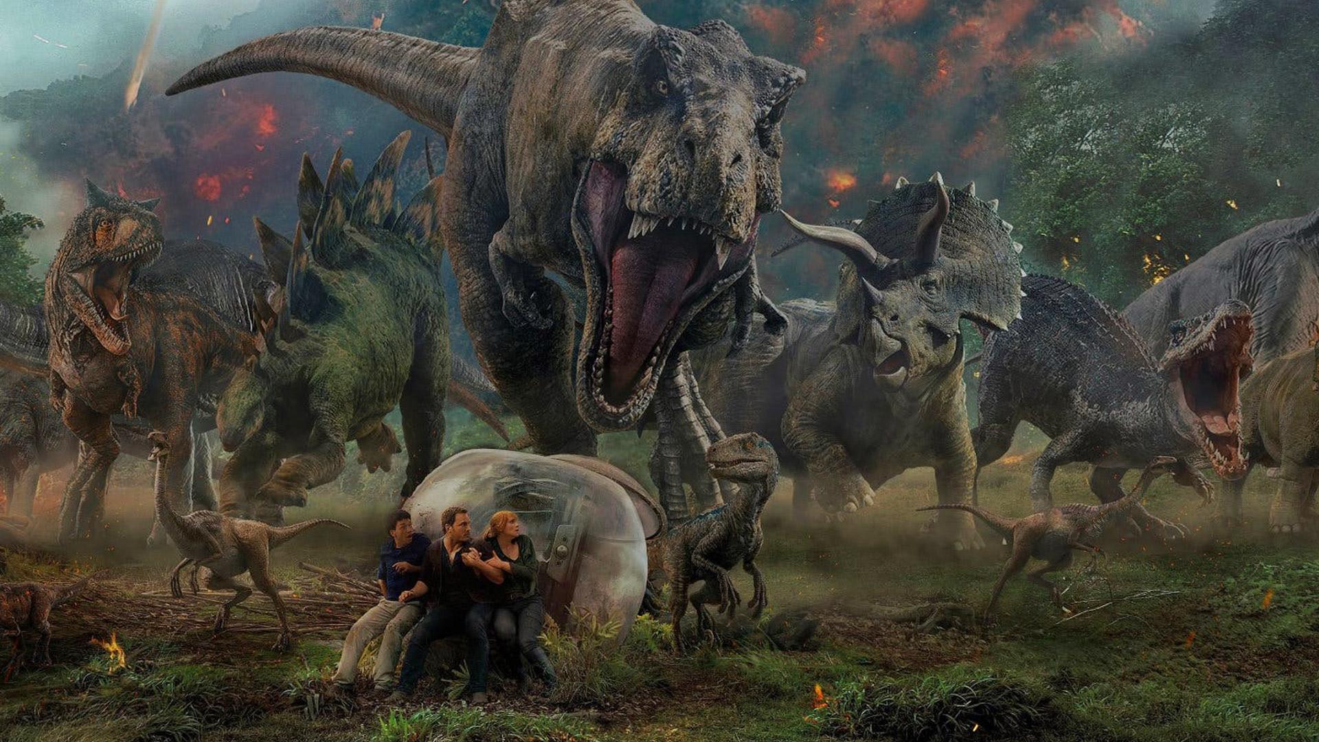 Jurassic World Fallen Kingdom 2018 Film Blitz